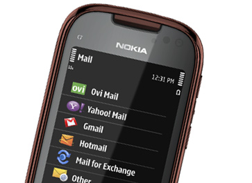 nokia email